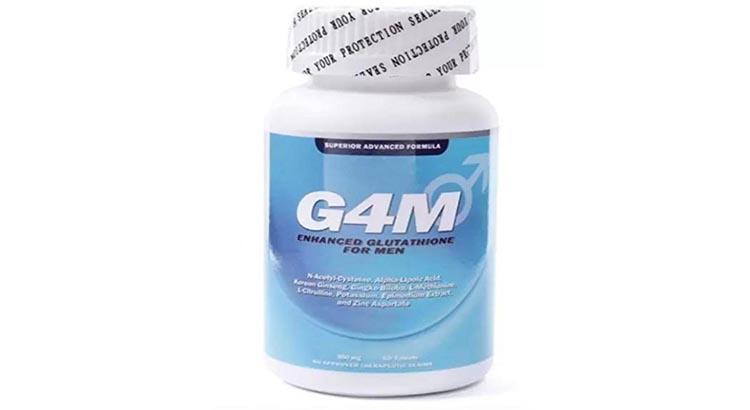 G4m Enhanced Glutathione for men Superior advanced formula Reviews