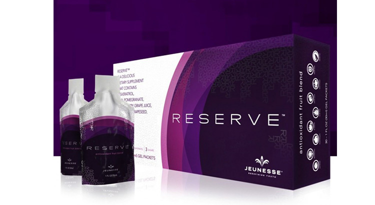 Jeunesse Reserve Resveratrol Botanical Beverage Mixed Dark Sweet Cherry, Blueberry and Concord grape Reviews