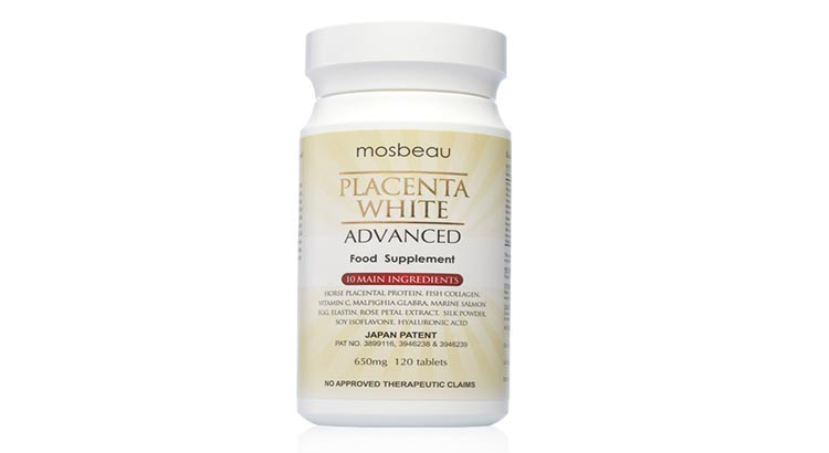 Mosbeau Placenta White Advanced Whitening Food Supplement Reviews