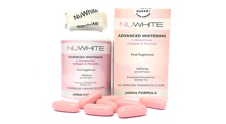 NuWhite Advanced Whitening L-Glutathione Collagen and Placenta Japan Formula Reviews