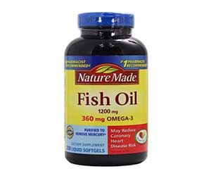 Top 10 best selling fish oil supplement brands philippines for Nature made fish oil review