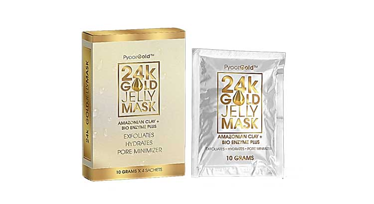Pyoor-Essentials-Gold-24k-Gold-Jelly-Mask-Reviews