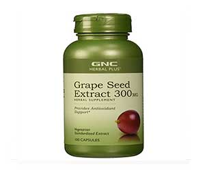 GNC-Herbal-Plus-Grape-Seed-Extract-300mg-Capsules-Reviews