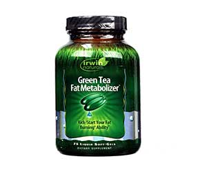 Irwin-Naturals-Green-Tea-Fat-Metabolizer-Liquid-Soft-Gels-Reviews