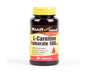 Mason-Natural-L-Carnitine-Fumarate-500mg-Tablets-Reviews