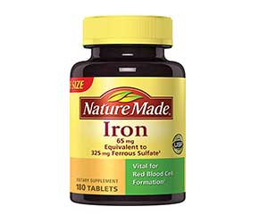 Nature-Made-Iron-Supplement-Reviews