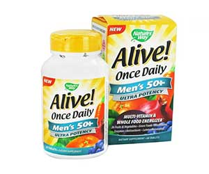 Nature's-Way-Alive-Once-Daily-Multivitamin-for-Men-Tablets-Reviews