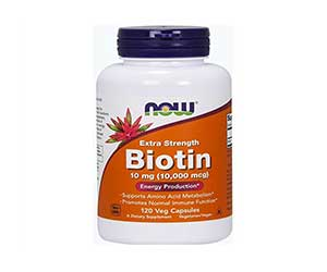 Now-Biotin-10000-MCG-Vitamin-Capsules-Reviews