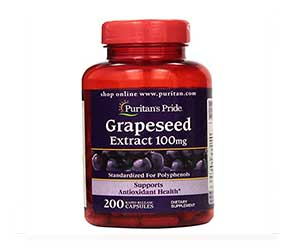 Puritan's-Pride-Grapeseed-Extract-100mg-Capsules-Reviews