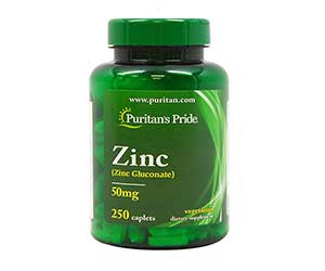 Puritan's-Pride-Zinc-Gluconate-50mg-Caplets-Reviews