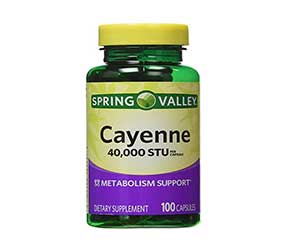 Spring-Valley-40000-STU-Cayenne-Metabolic-Support-Reviews