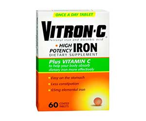 Vitron-C-High-Potency-Iron-Plus-Vitamin-C-Reviews
