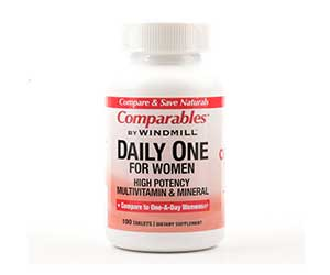 Windmill-Comparables-Daily-One-For-Women-Multivitamin-and-Minerals-Reviews